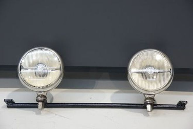 Spot Lights Pair of Lucas 'King of the Road' on Bar
