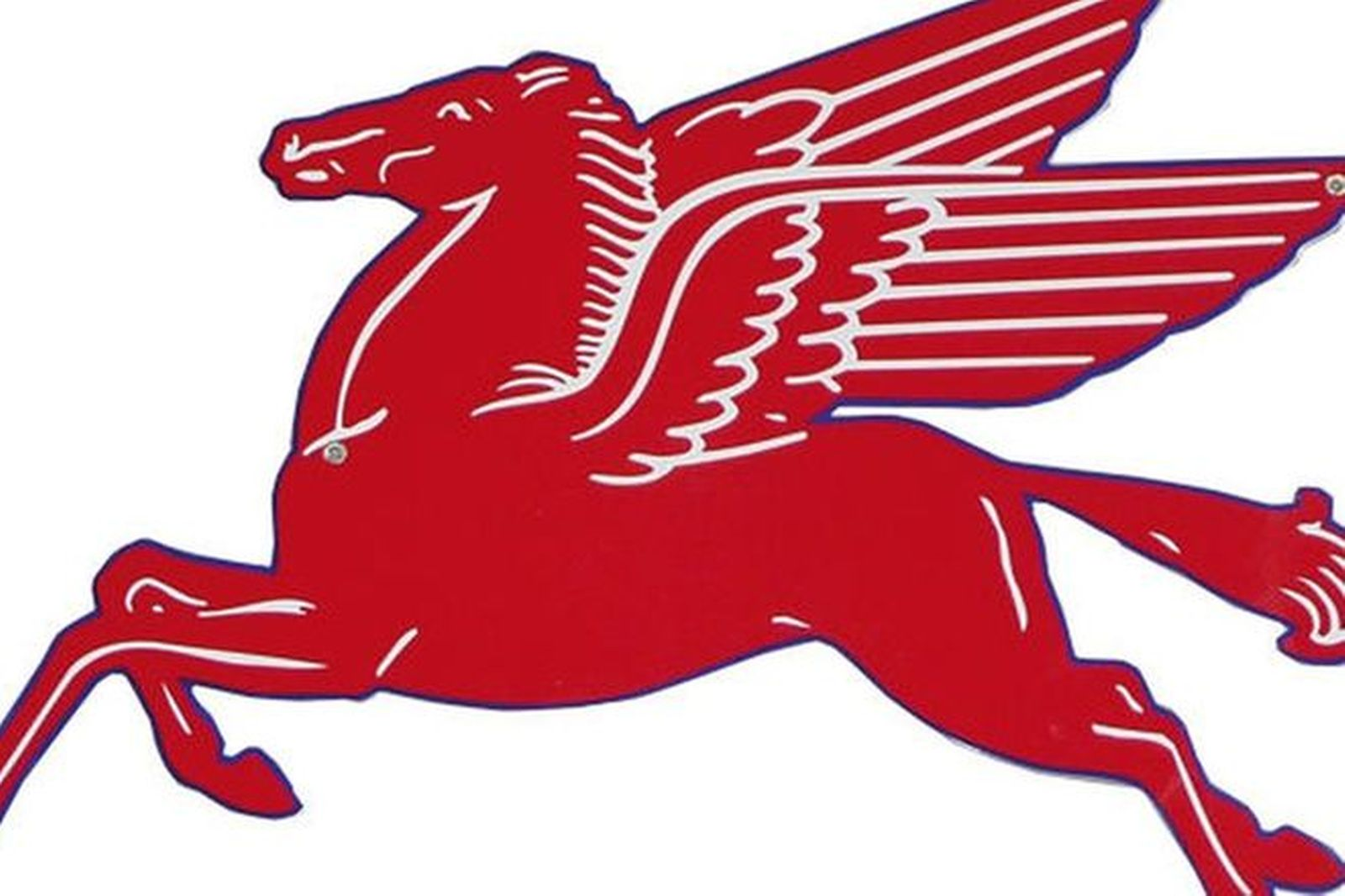 Sign - Pegasus Flying Horse (Reproduction)