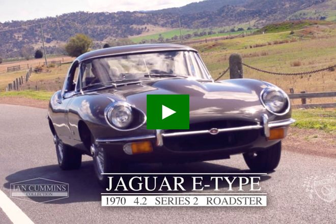 Jaguar E-Type 4.2 Series 2 Roadster - From the 'Ian Cummins Collection'
