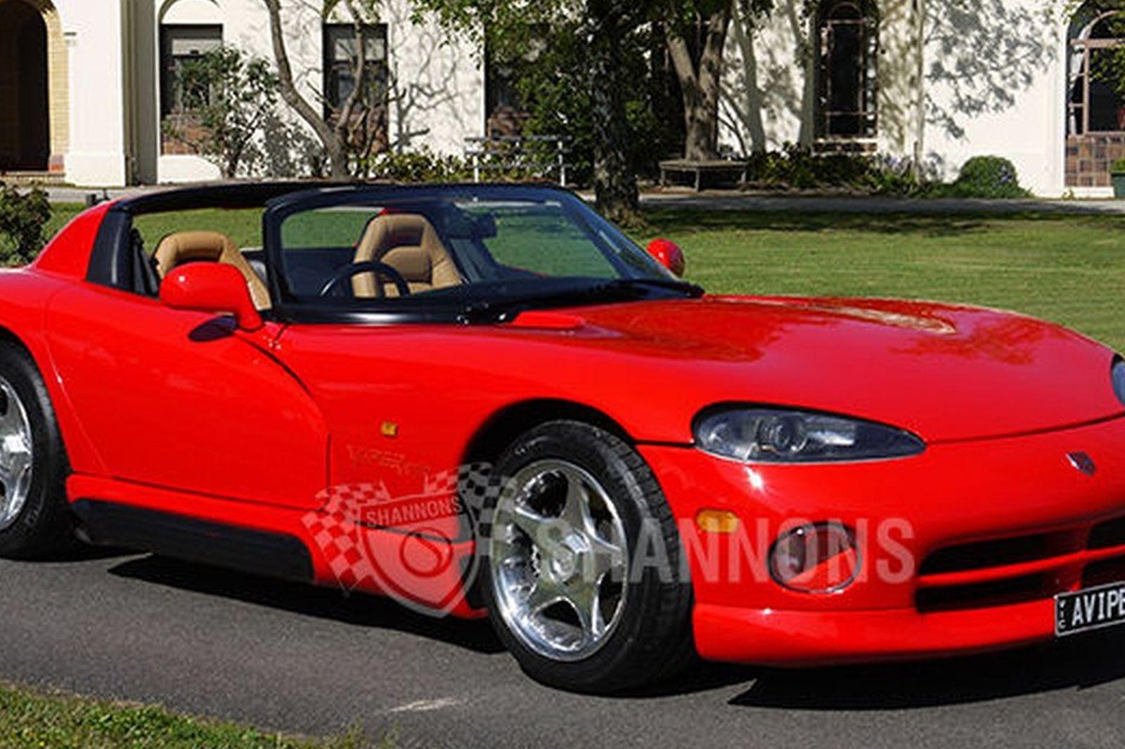 dodge viper rt 10 roadster auctions lot 16 shannons. Black Bedroom Furniture Sets. Home Design Ideas