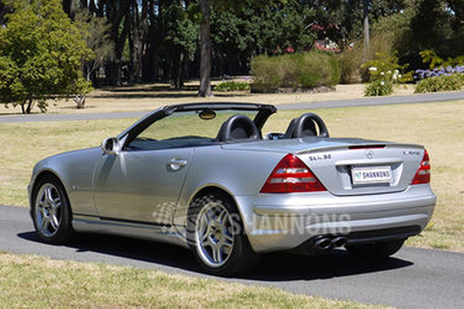 Sold Mercedes Benz Slk32 Amg Convertible Auctions Lot