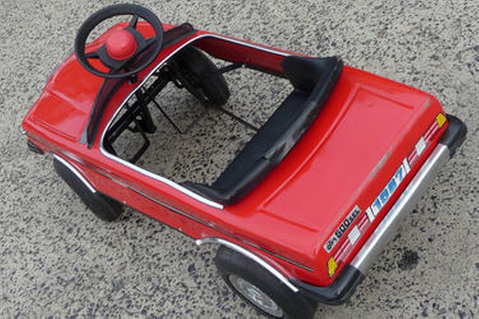 sold  pedal car - 1987 mercedes-benz 500sel auctions