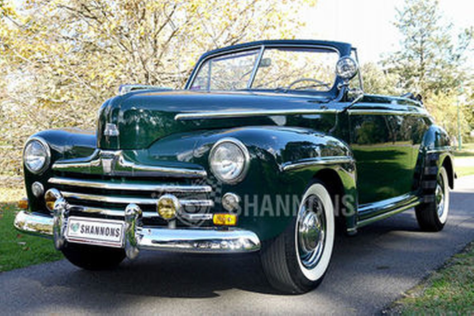 Ford Deluxe Convertible Lhd Auctions Lot 22 Shannons 1948 Mustang Coupe