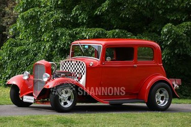 Ford Victoria 'Hot Rod' Coupe (RHD)