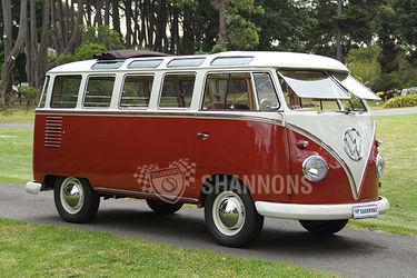 Volkswagen Kombi '23 Window' Samba Bus (RHD)