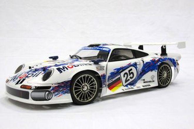 1 x Kyosho Superten FW04 Porsche 911 GTI Radio Control Nitro Powered Car(Scale 1/8)