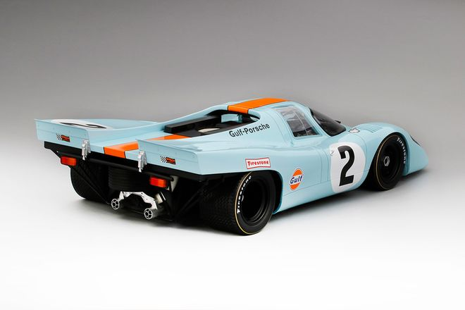 Model Car - TSM 1970 Porsche 917K #2 Gulf Daytona 24Hr. Winner