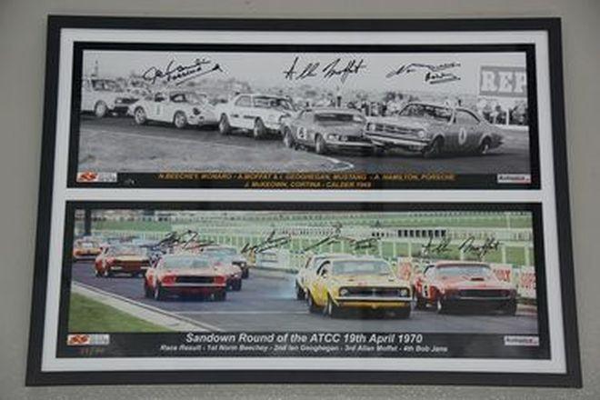Signed Framed Print - Australian Touring Car Championship