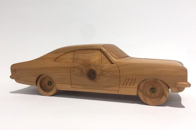 Wooden Model - Holden Ht Monaro (Hand Made)