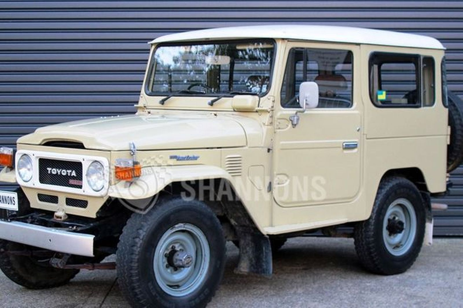 Sold Toyota Land Cruiser Bj 42 Diesel Swb Auctions