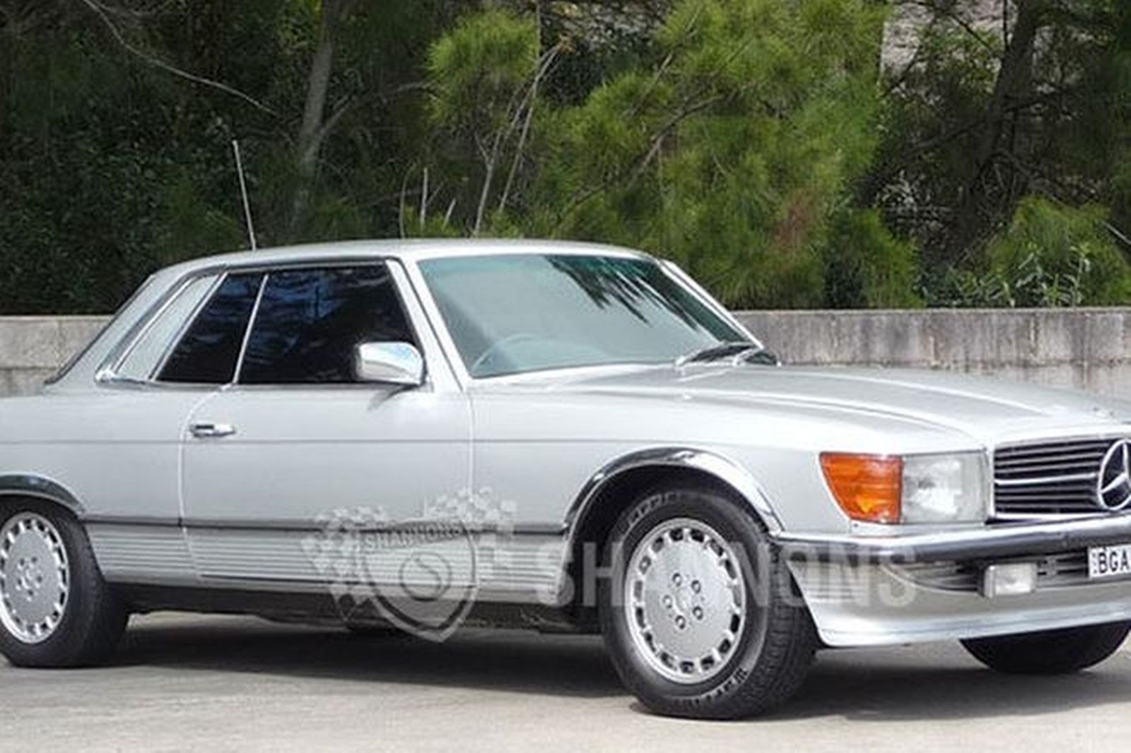 Sold Mercedes Benz 450slc Coupe Auctions Lot 7 Shannons