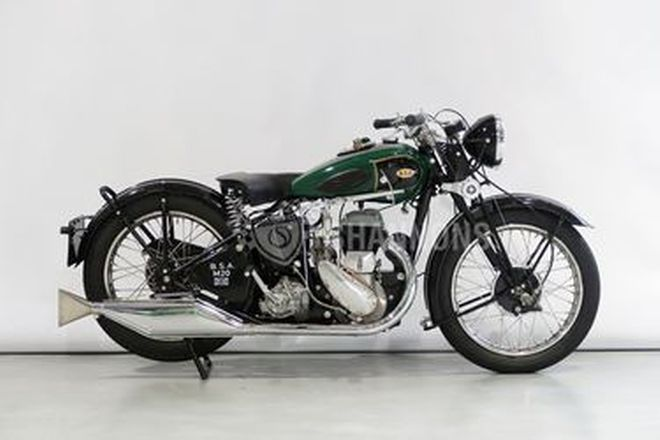 BSA 500cc M20 Solo Motorcycle