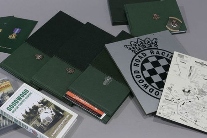 Goodwood Pack (Videos -1999 Festival of Speed & Revival, DVD - 2005 Revival, Signed Books - Motor Ci