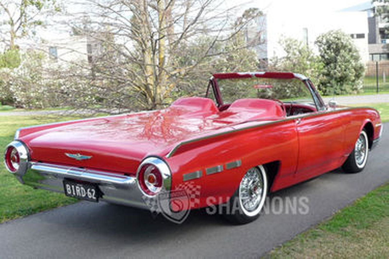 Ford Thunderbird Convertible Rhd on 1957 Thunderbird Interior