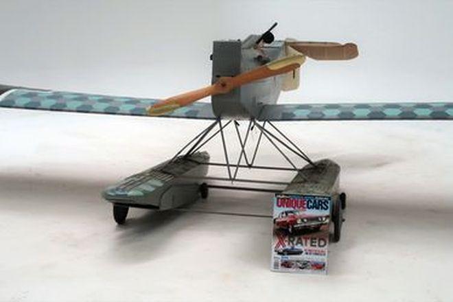 Model Aircraft - Radio Control WW1 Brandenburg W29 Mono Seaplane 1:4 Scale (3.4m wingspan)