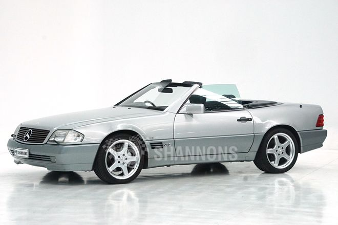 Mercedes-Benz SL600 Convertible