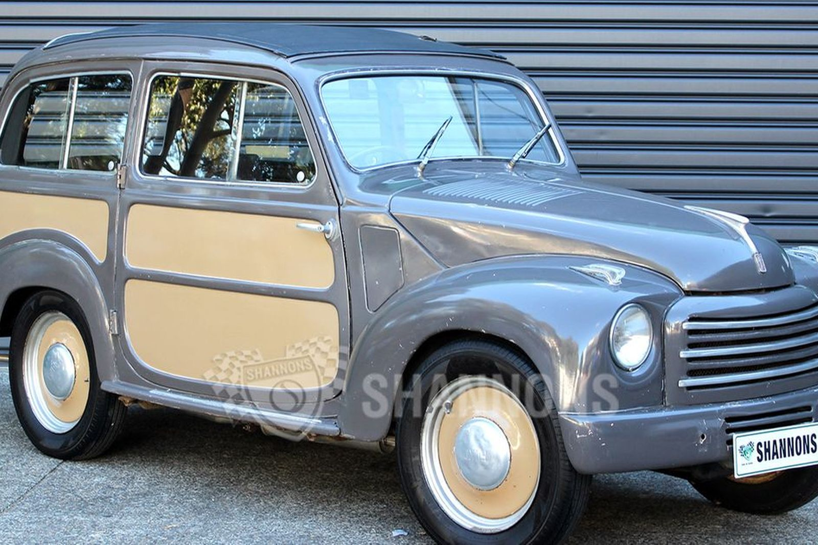 sold: fiat 500 topolino belvedere wagon auctions - lot 8 - shannons