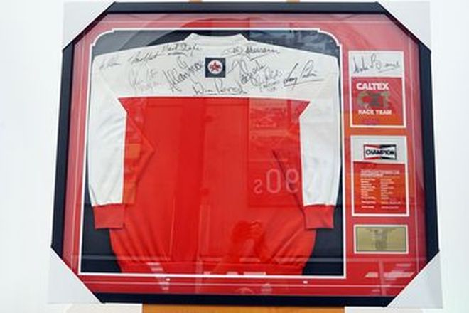 Charity Lot - Signed Touring Car Championship Jacket - 9 signatures (41.5 x 33.5 inches)