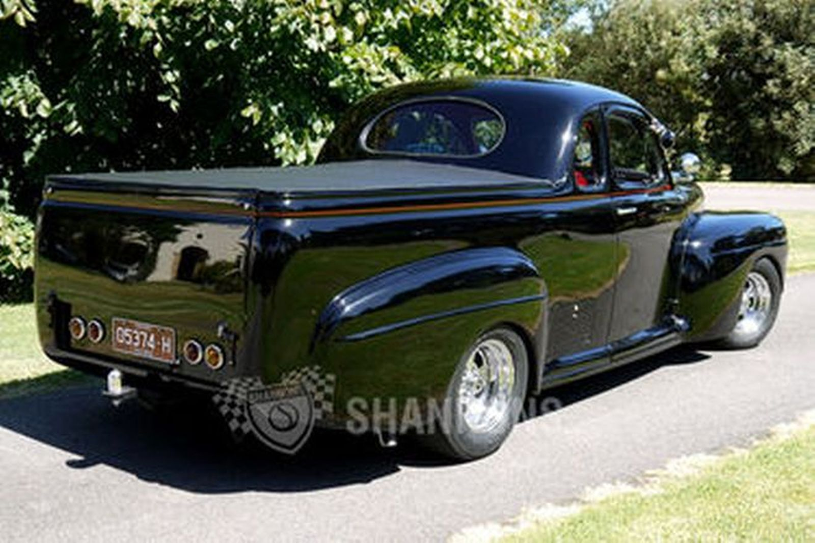 Ford Hot Rod Coupe Utility Rhd Auctions Lot 36 Shannons 1948 Pickup