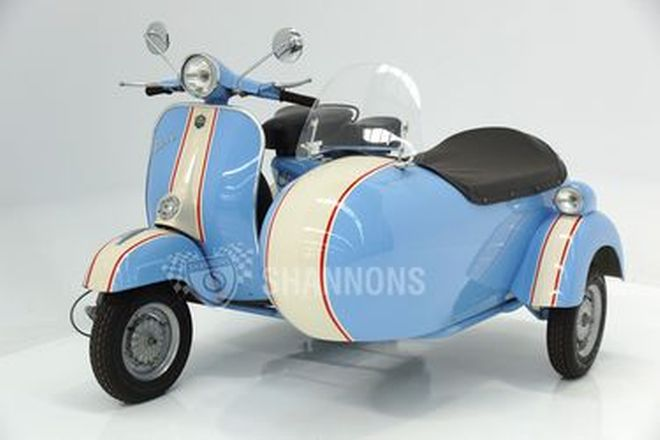 Vespa 150cc Motorscooter with Sidecar