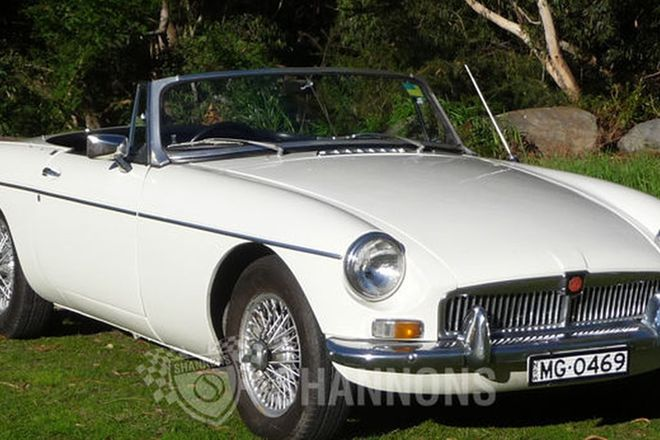 MG B Mark I Roadster