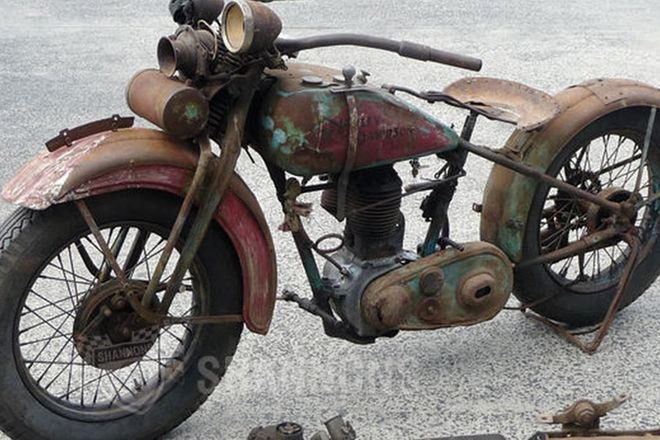 Harley-Davidson C Model 500cc Single Motorcycle (Project)