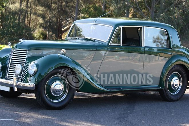 Armstrong Siddeley Whitley Sports Saloon