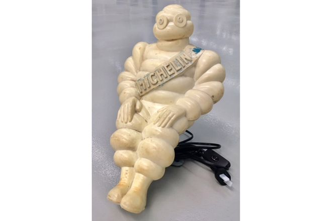 Michelin Man Truck Lamp