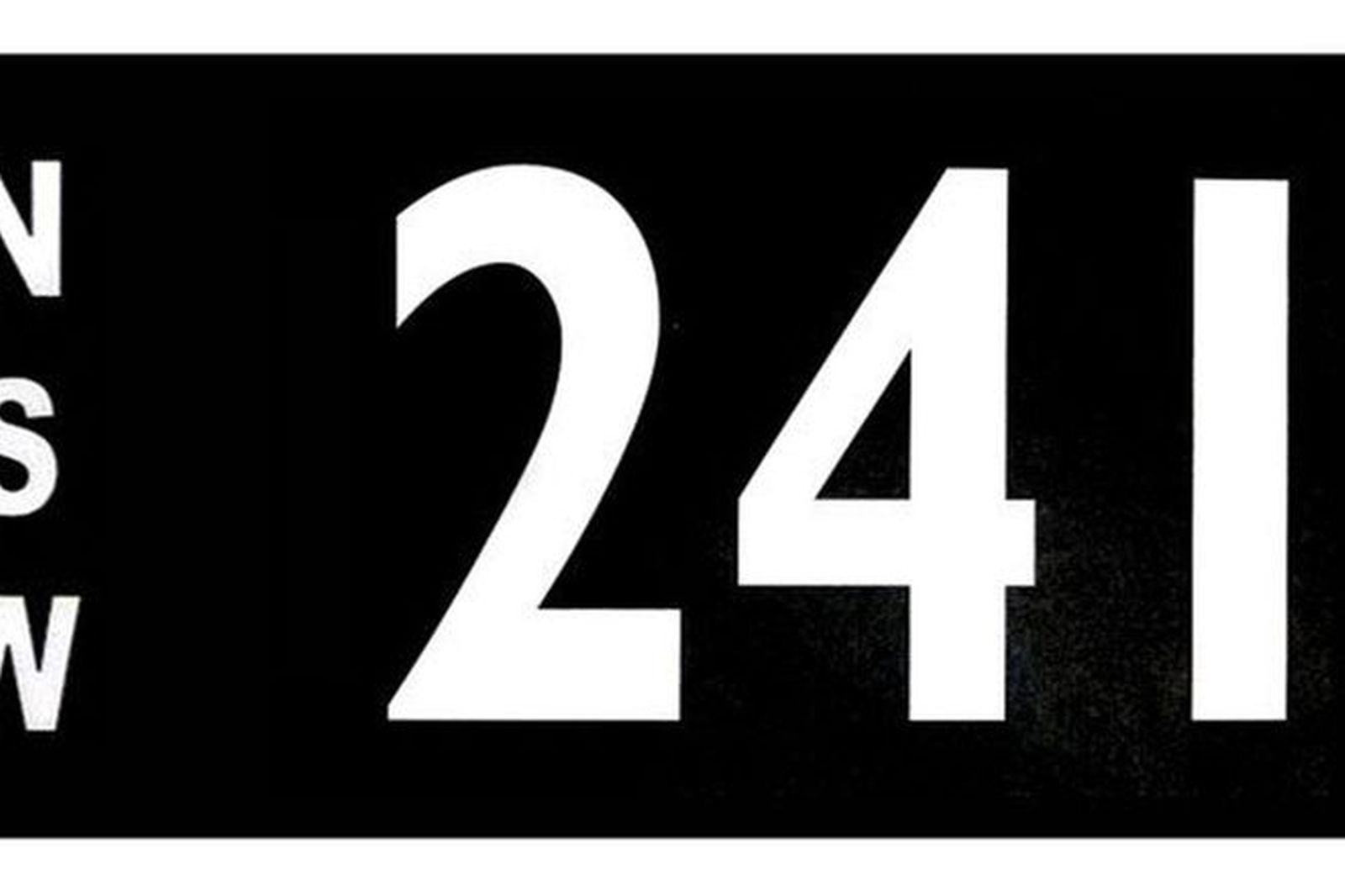 NSW Numerical Number Plates '241'