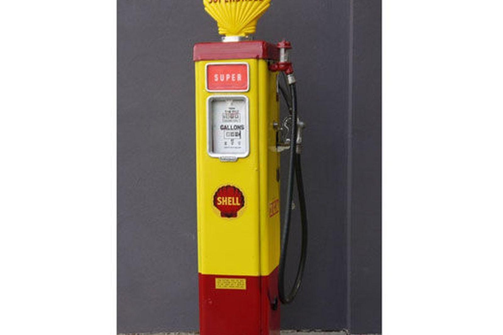petrol pump 1950u0027s wayne as70 electric in shell livery
