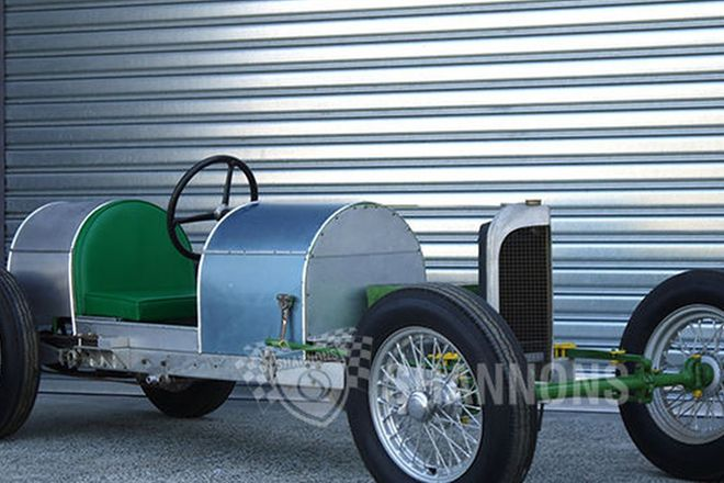 G.N. 'Special' 4 Cylinder 'Agni' Rolling chassis (Project)