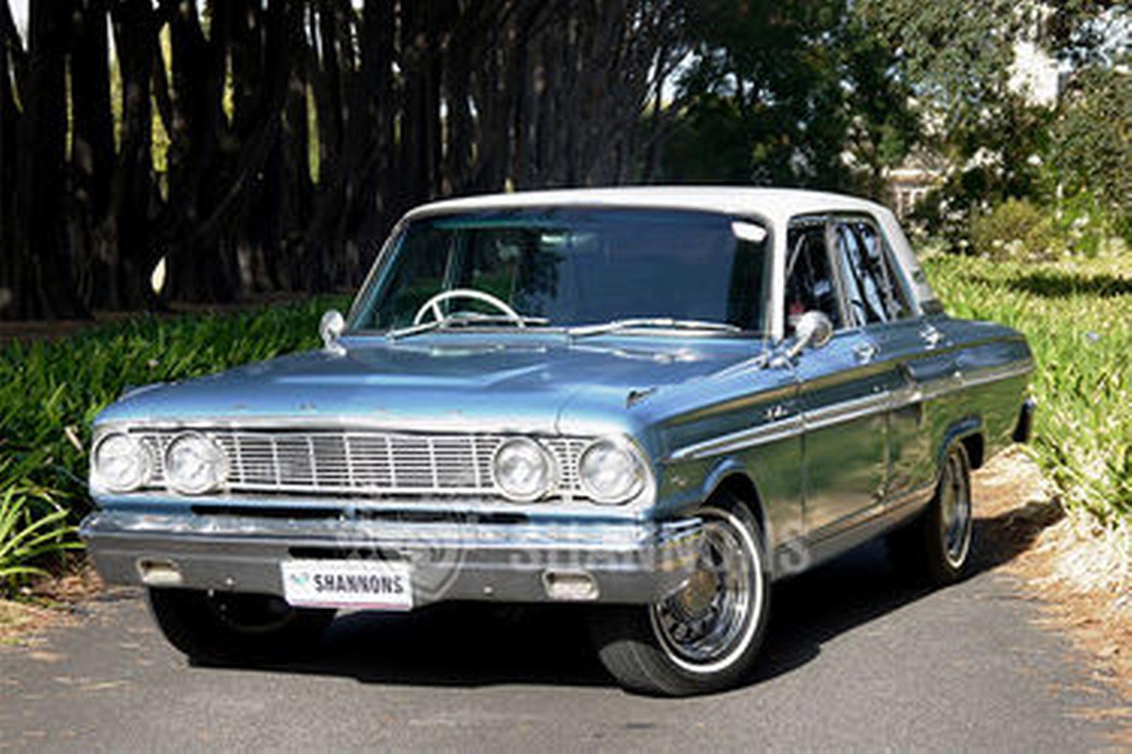 Ford fairlane compact sedan rhd