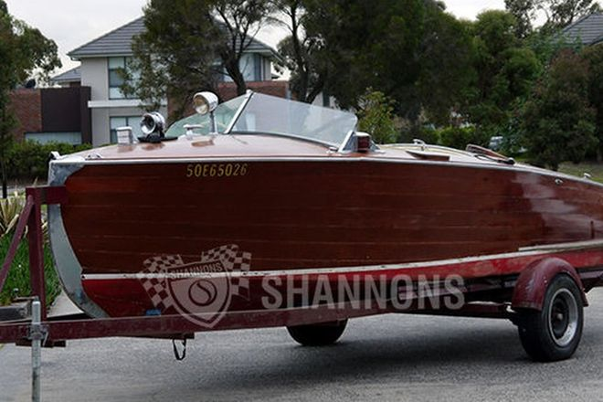 Shepherd 18ft Wooden Runabout 'Princess' with single axle Trailer