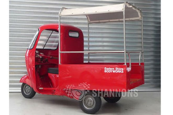 Vespa Ape 150cc 3-Wheeler Pick up (Ex Post Bike)