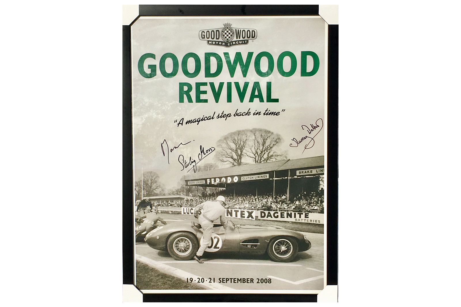 Goodwood Race Poster 2005 Framed and Signed