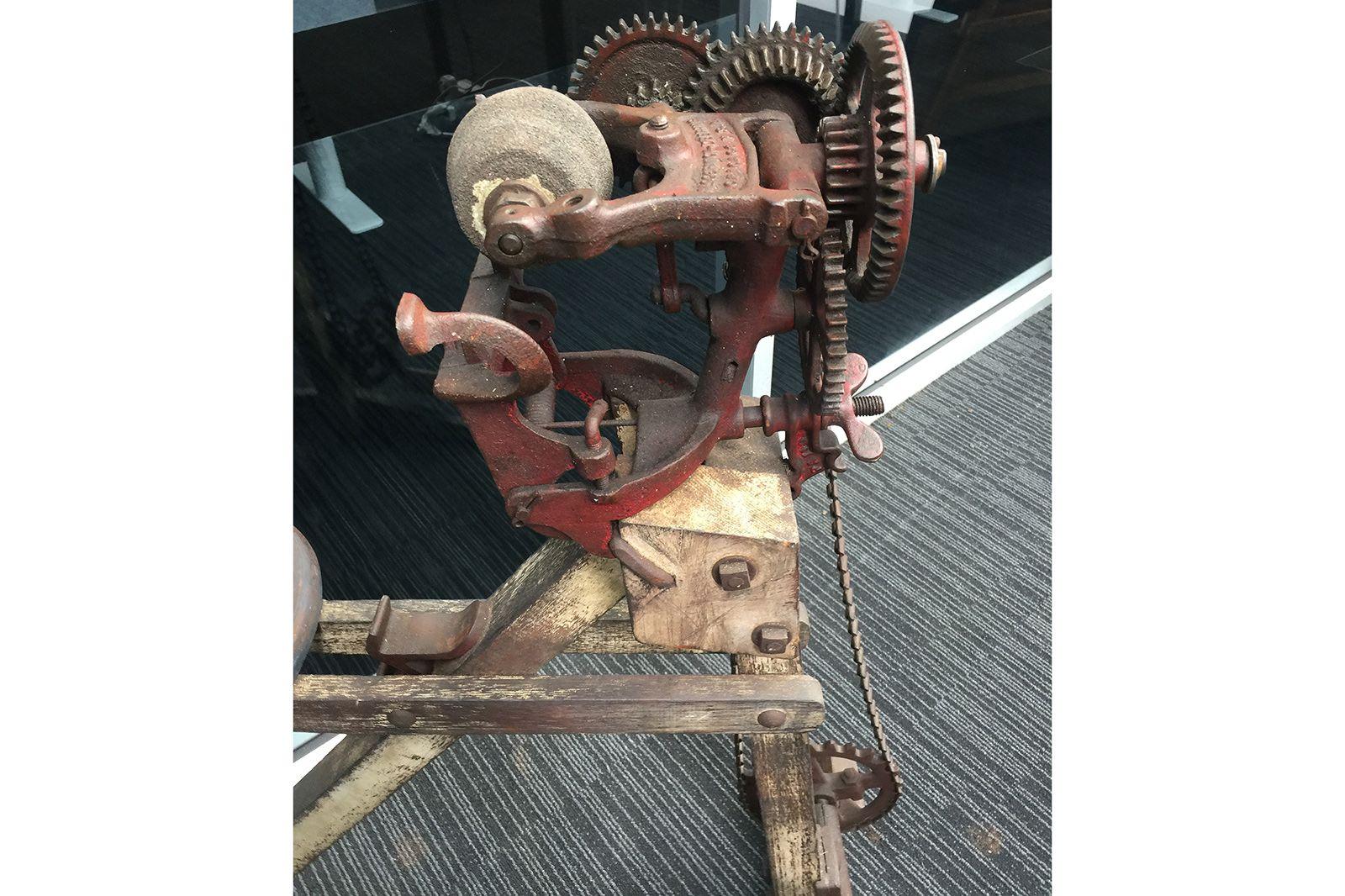 Vintage Pedal Grinder (Deering McCormick) circa 1930's