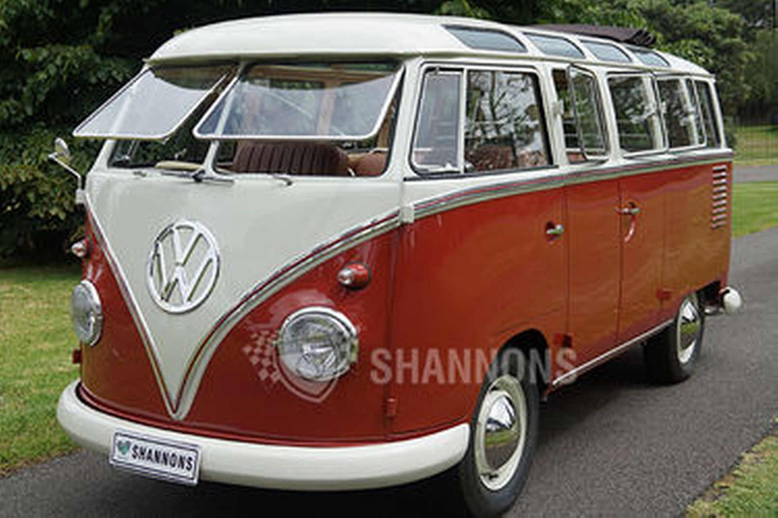 sold volkswagen kombi 39 23 window 39 samba bus rhd. Black Bedroom Furniture Sets. Home Design Ideas