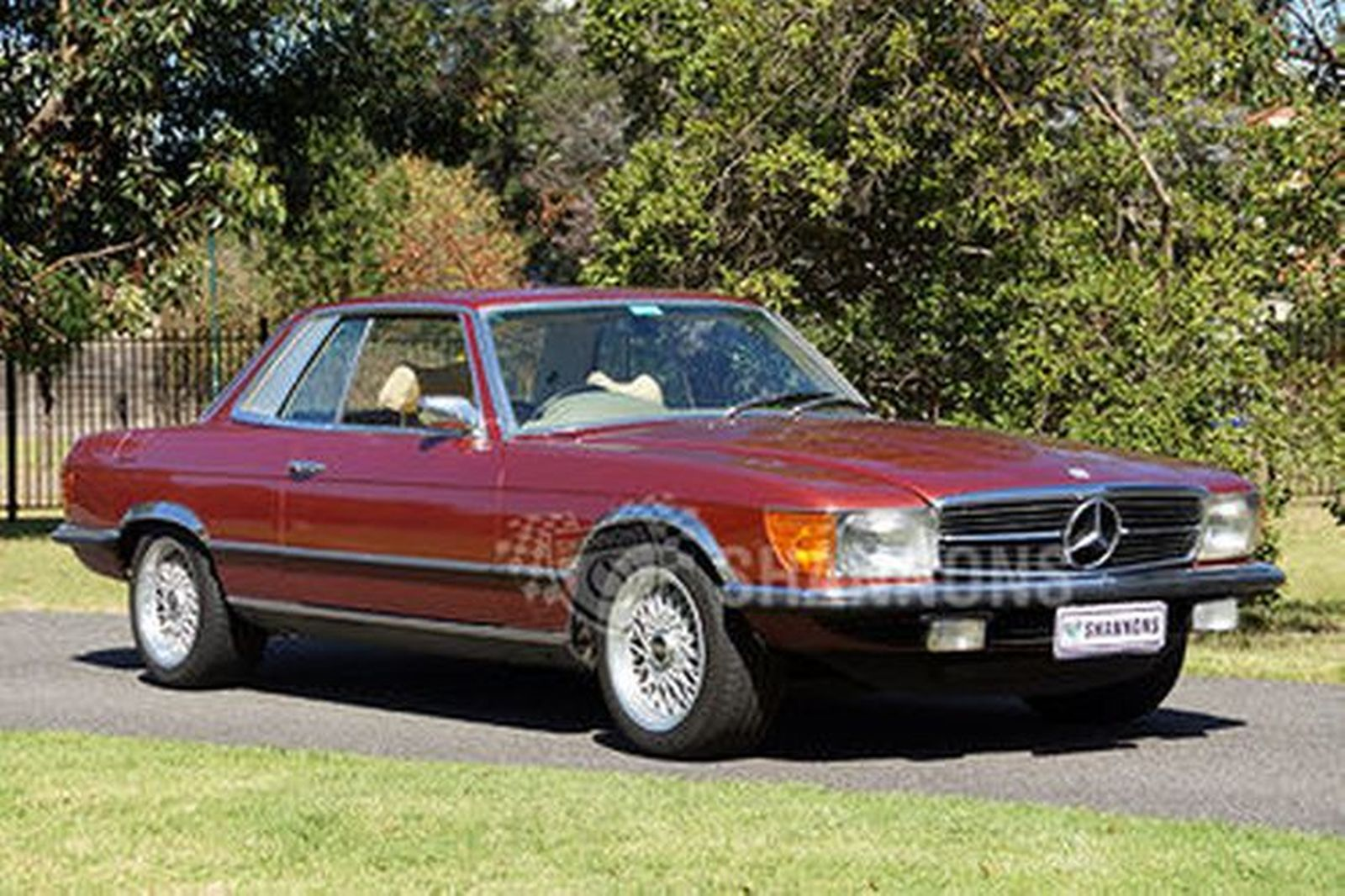 sold mercedes benz 450slc coupe auctions lot 2 shannons. Black Bedroom Furniture Sets. Home Design Ideas