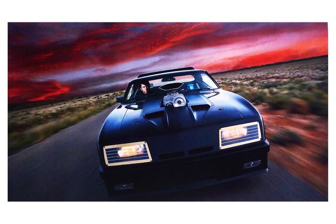 Vinyl Hanging Posters - Mad Max Sunset