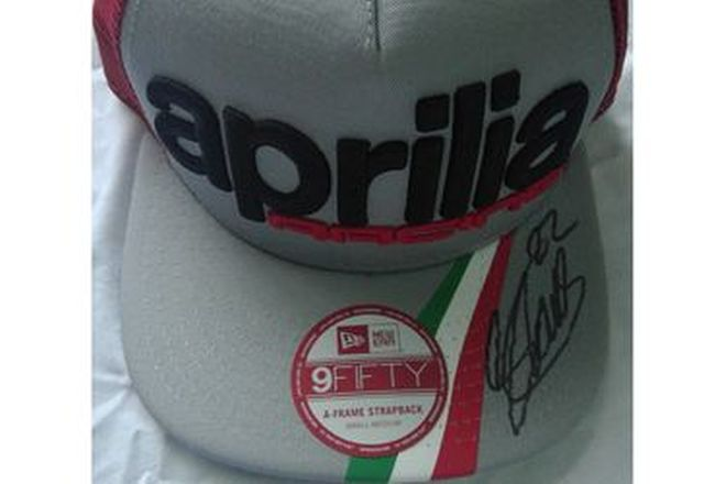 Sam Lowes #22 Aprilia Signed Cap