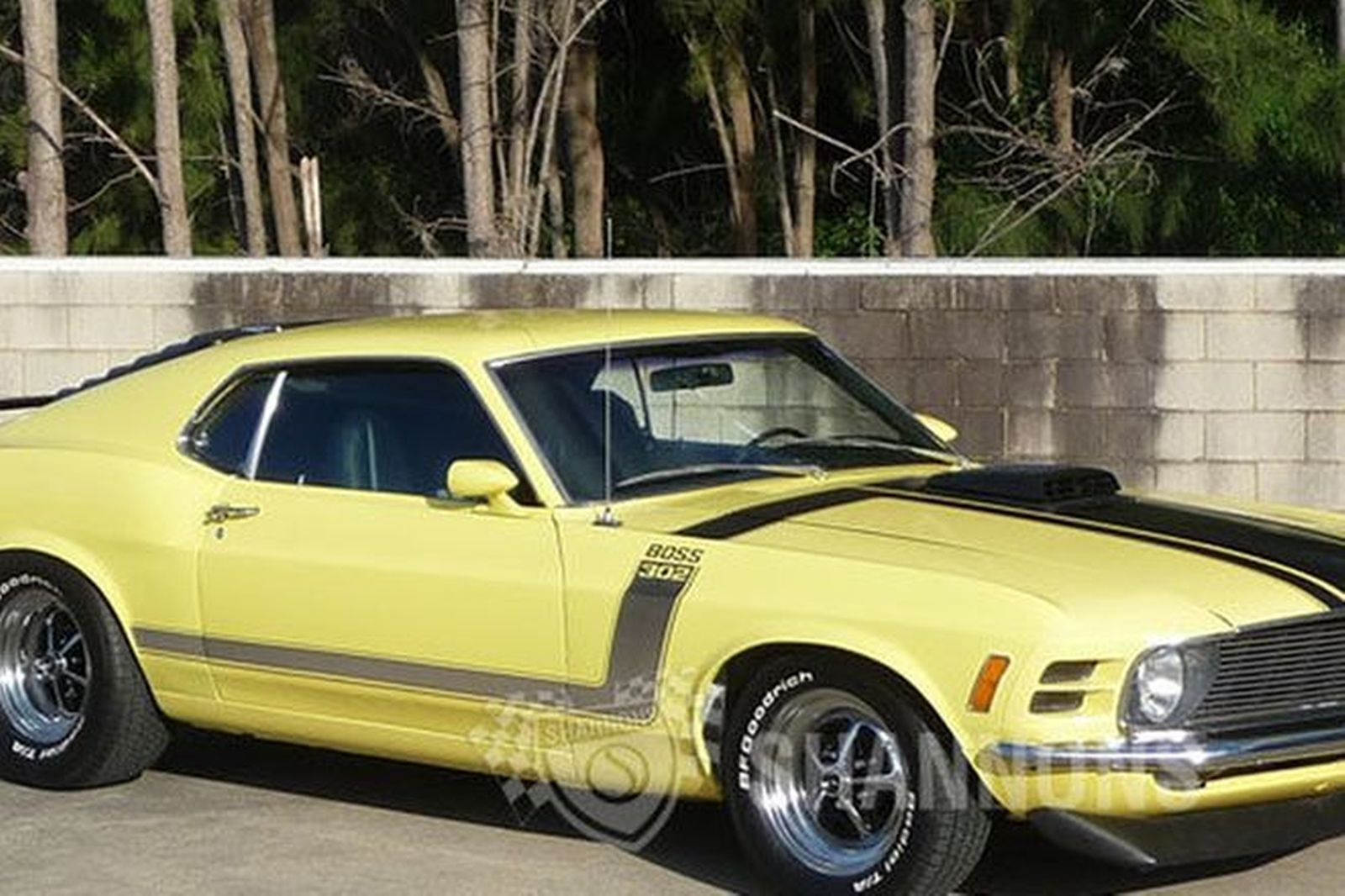 Ford Mustang Boss 302 Fastback Lhd Auctions Lot 25