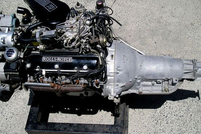 Display Engine - Rolls-Royce Silver Shadow II V8