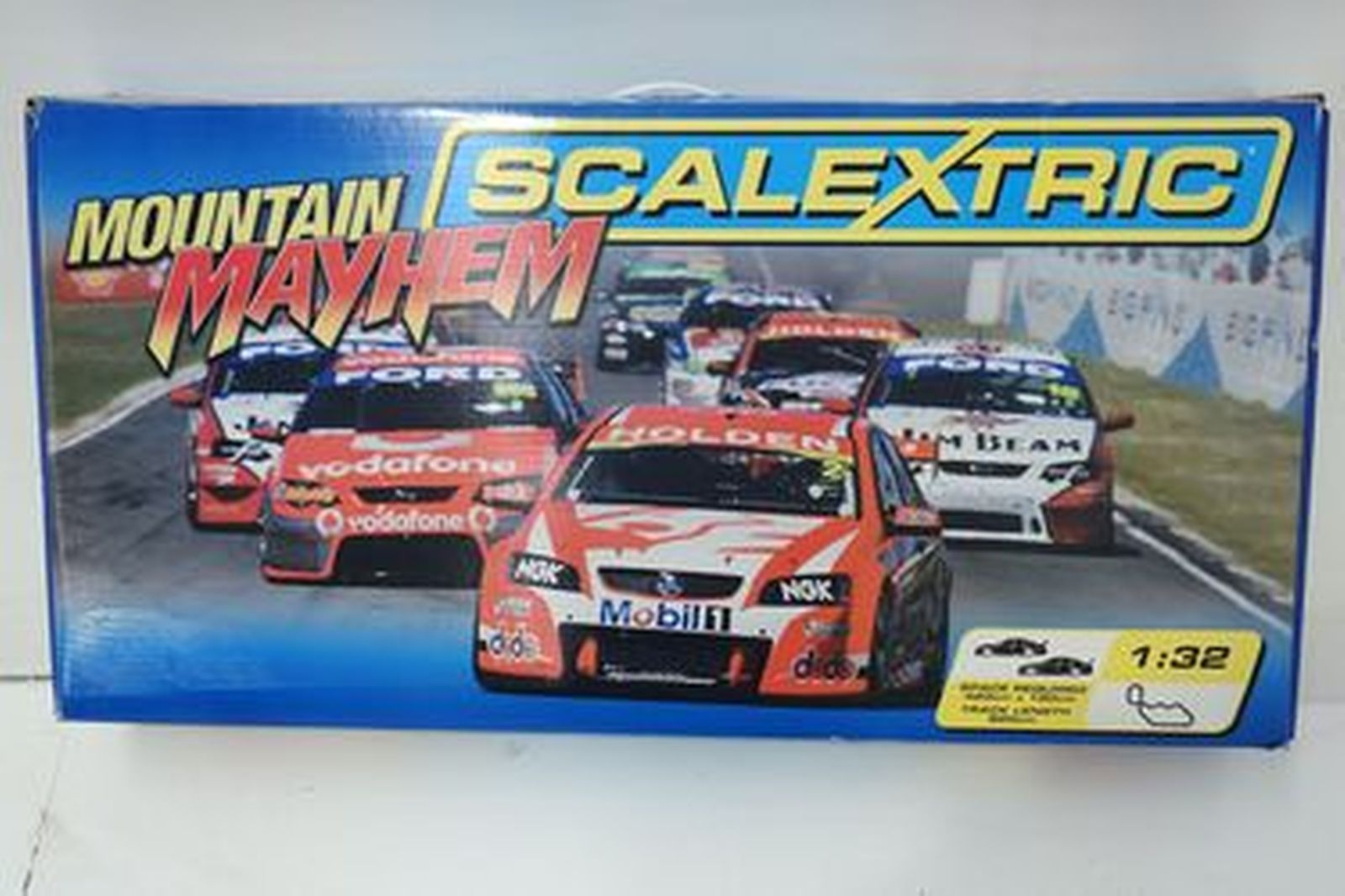 Scalextric Slot Car Set - Bathurst 'Mountain Mayhem' Craig Lowndes vs Mark Skaife