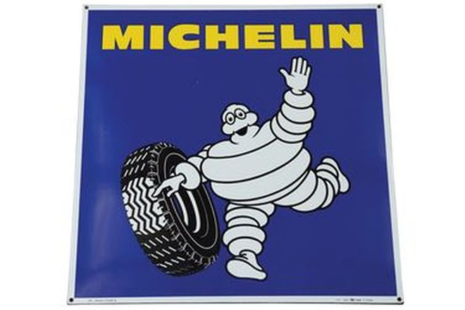 Enamel Sign - c1973 Michelin (95 x 95cm)