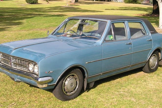 Holden HK Brougham 307 V8 Sedan