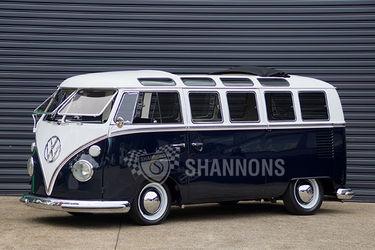 Volkswagen De Luxe '21 Window' Samba Micro Bus (RHD)