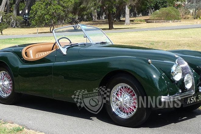 sold jaguar xk150s 3 4 roadster auctions lot 52 shannons. Black Bedroom Furniture Sets. Home Design Ideas