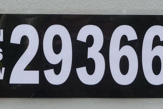 NSW Numerical Number Plates - '29366'