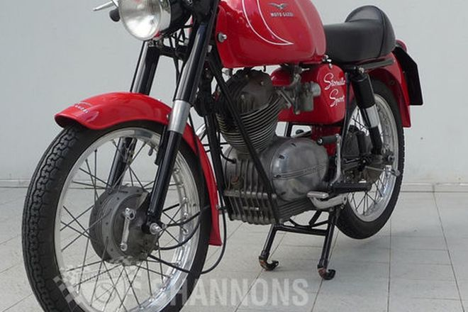Moto Guzzi 125cc Stornello Sport Motorcycle