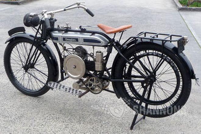 Douglas 350cc 'Belt Drive' Motorcycle